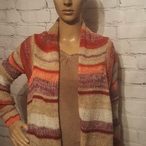 Eyeshadow Open Cardigan